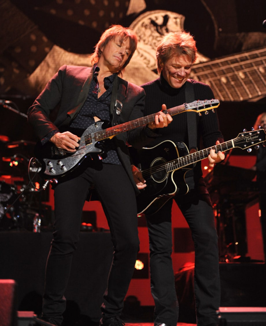 Bon Jovi and Sambora