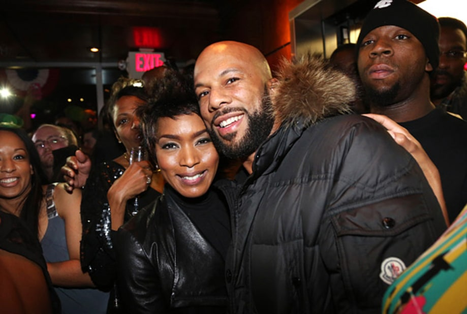 Angela Bassett and Common
