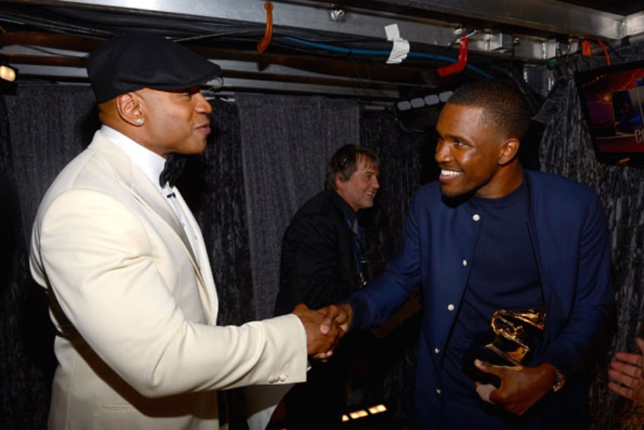 LL Cool J and Frank Ocean
