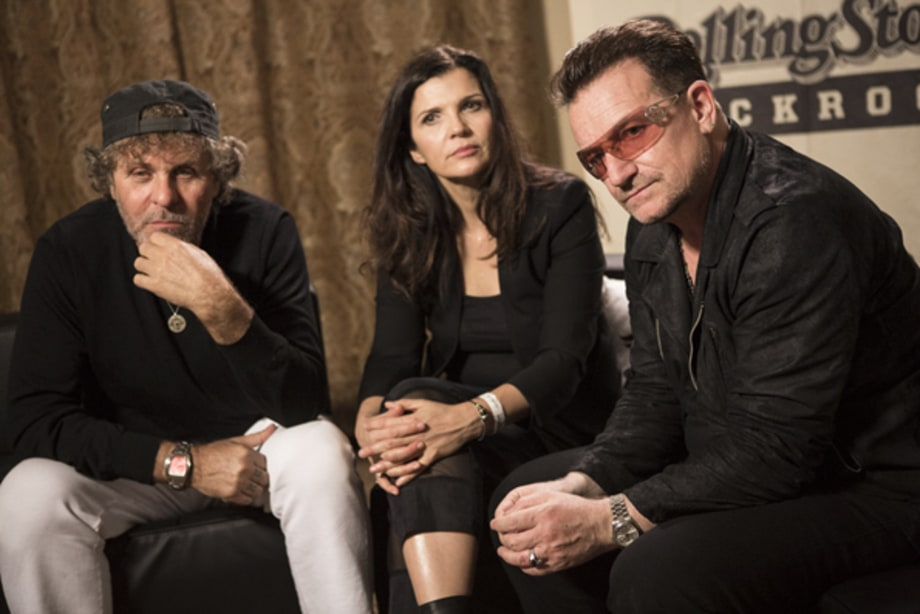 Renzo Ross, Ali Hewson and Bono