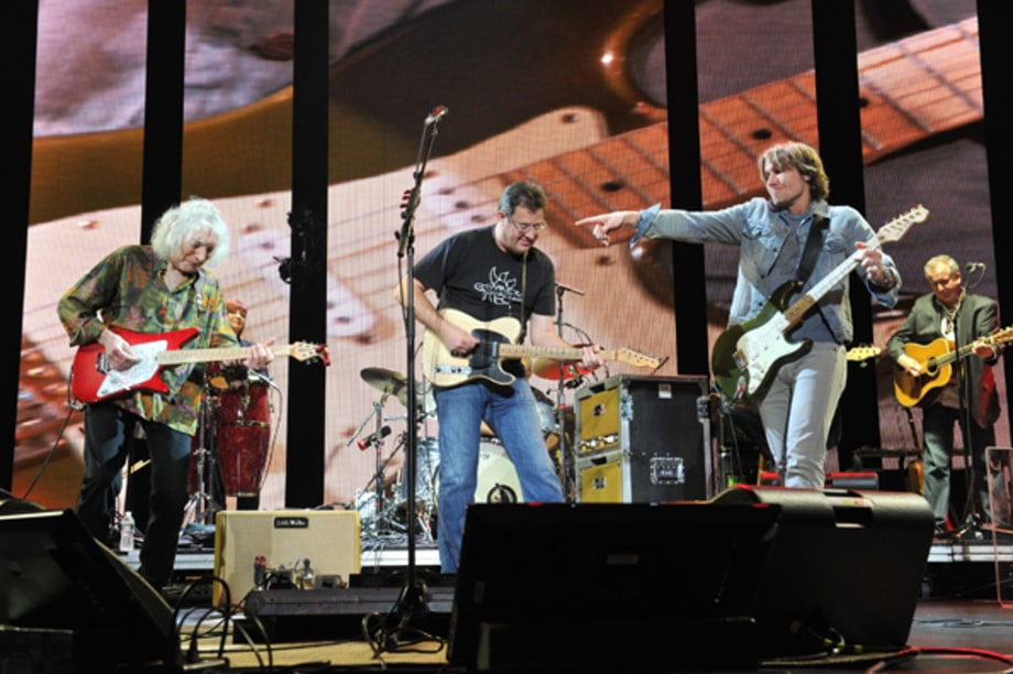 Albert Lee, Vince Gill and Keith Urban