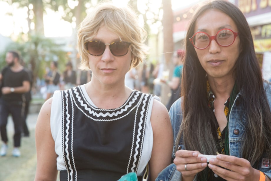 Chloe Sevigny and Tim Koh