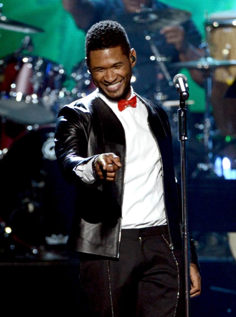Usher singer wedding