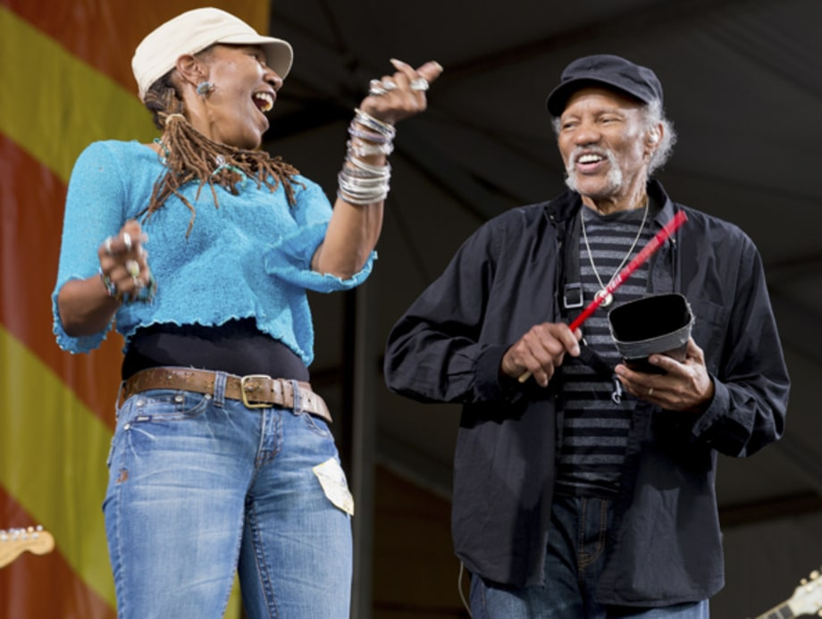 Charmaine Neville and Charles Neville