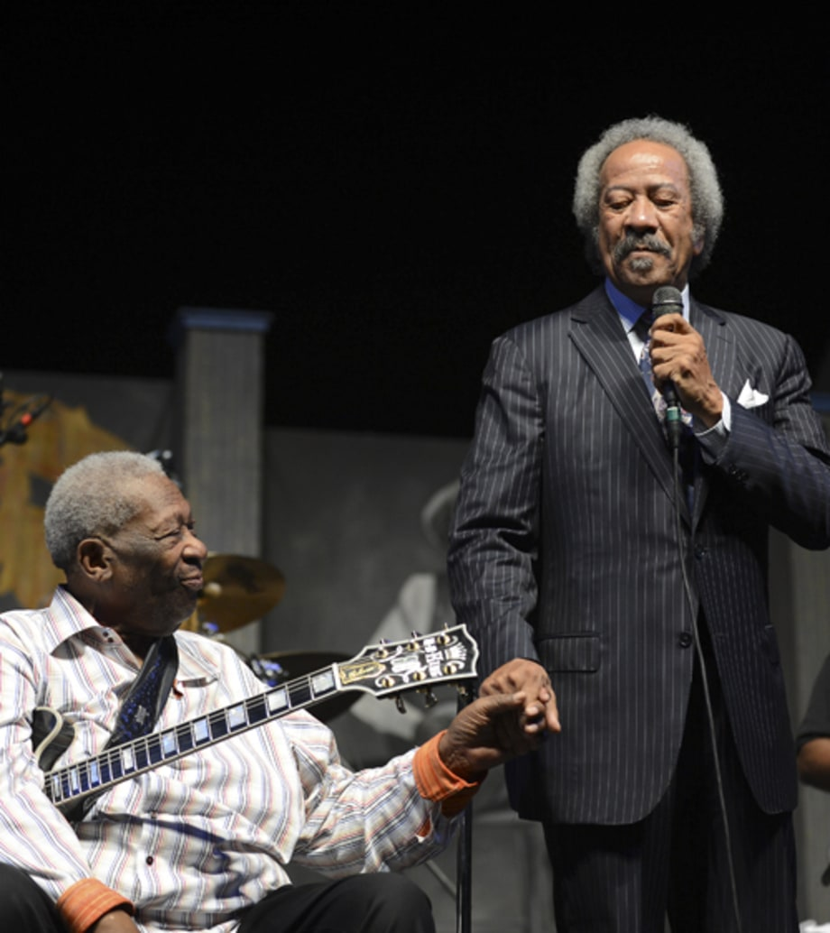 B.B. King and Allen Toussaint
