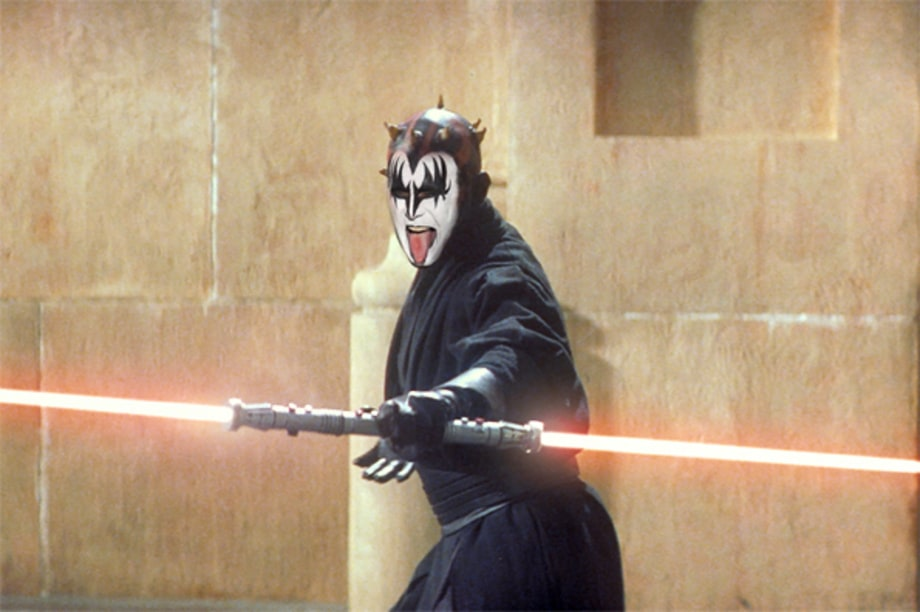 Gene Simmons as Darth Maul