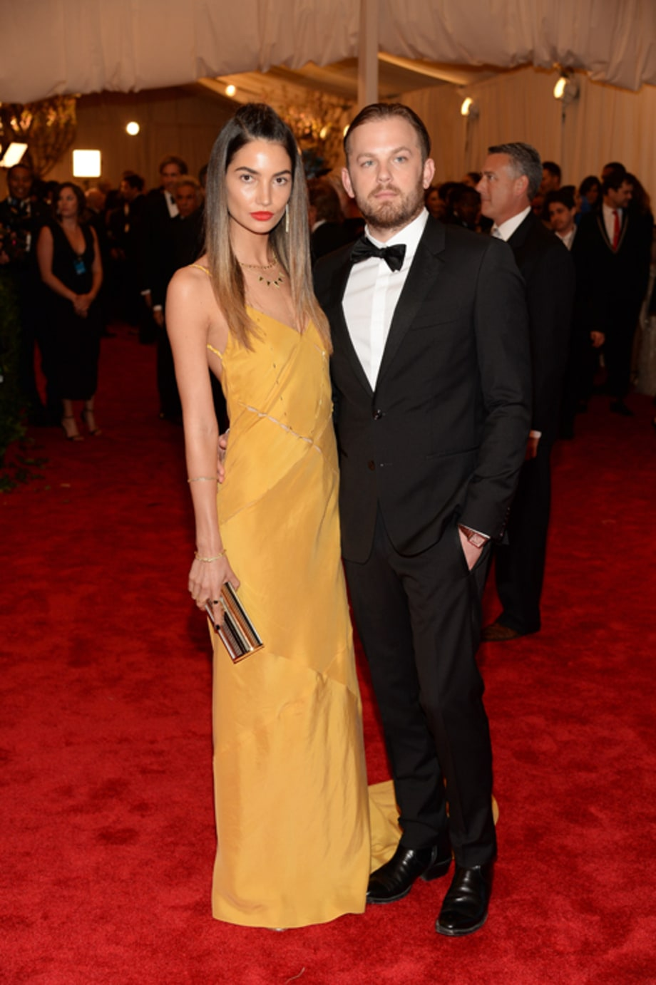 Lily Aldridge and Kings of Leon's Caleb Followill
