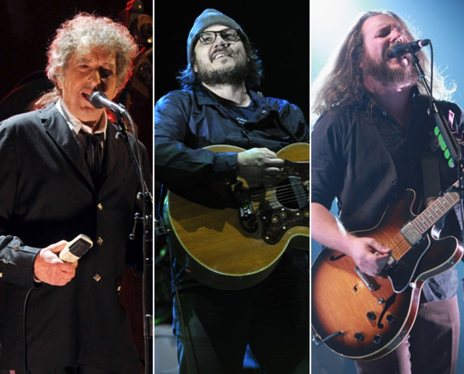 Bob Dylan/Wilco/My Morning Jacket