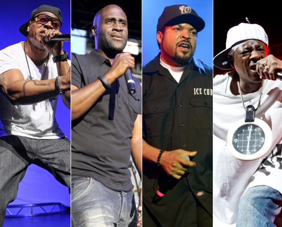 LL Cool J, De La Soul, Ice Cube, Public Enemy