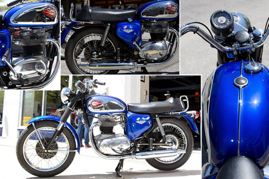 The Newly Refurbished 1967 BSA A50 Royal Star