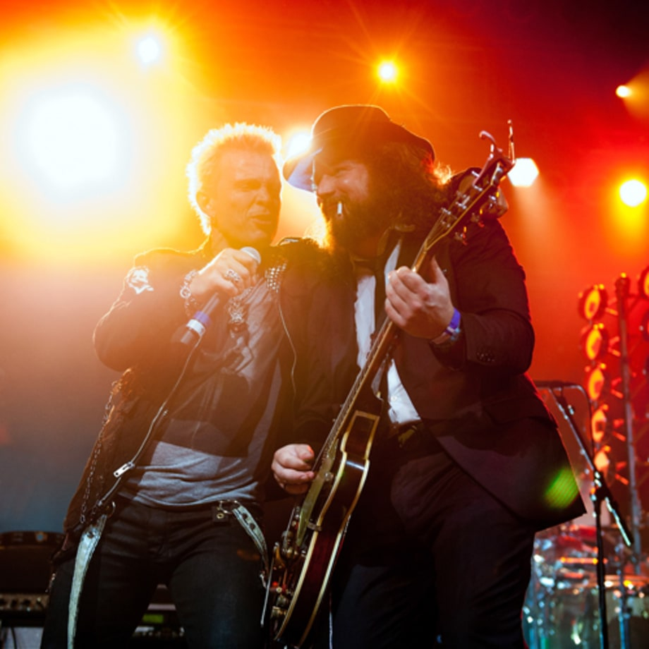 Billy Idol and Jim James