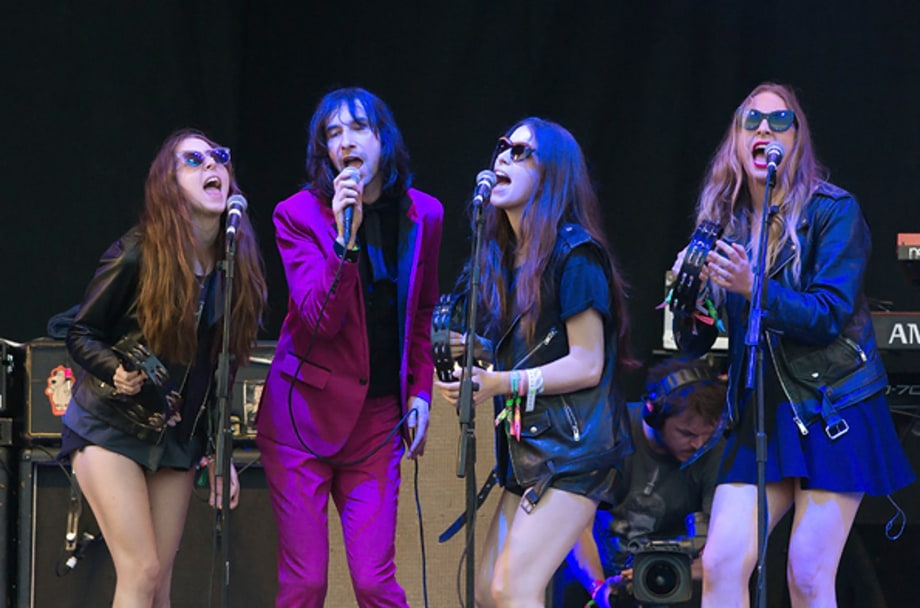 Primal Scream and HAIM