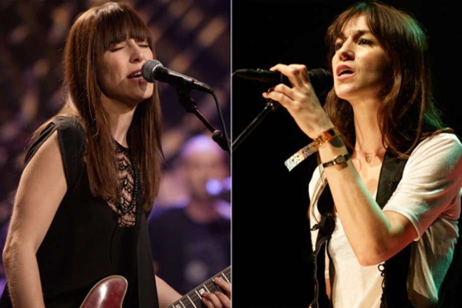 Feist and Charlotte Gainsbourg