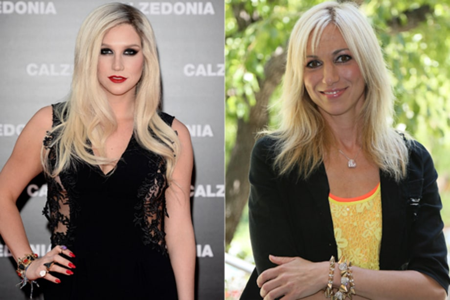Ke$ha and Debbie Gibson