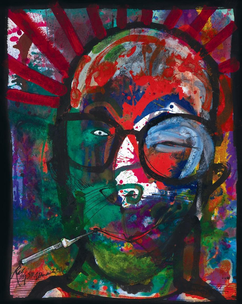 The Joke S Over The Gonzo Art Of Ralph Steadman