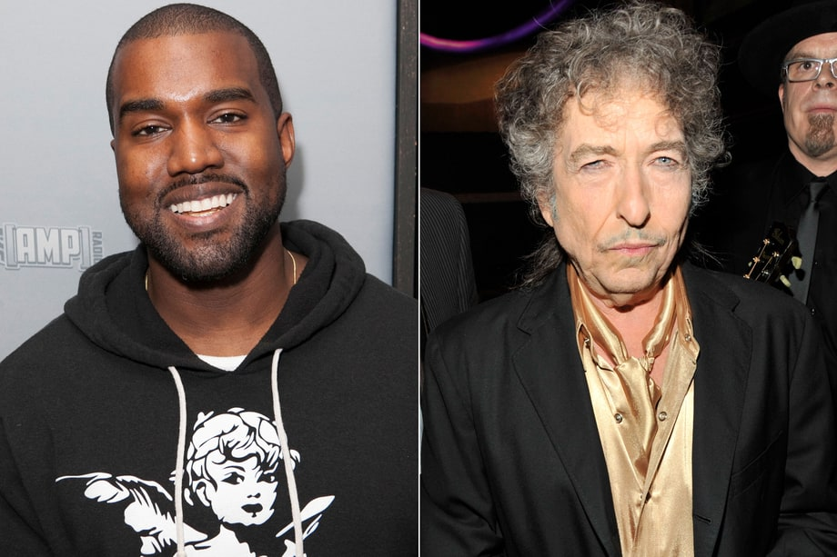 Kanye West and Bob Dylan, 'Property of Yeezus'