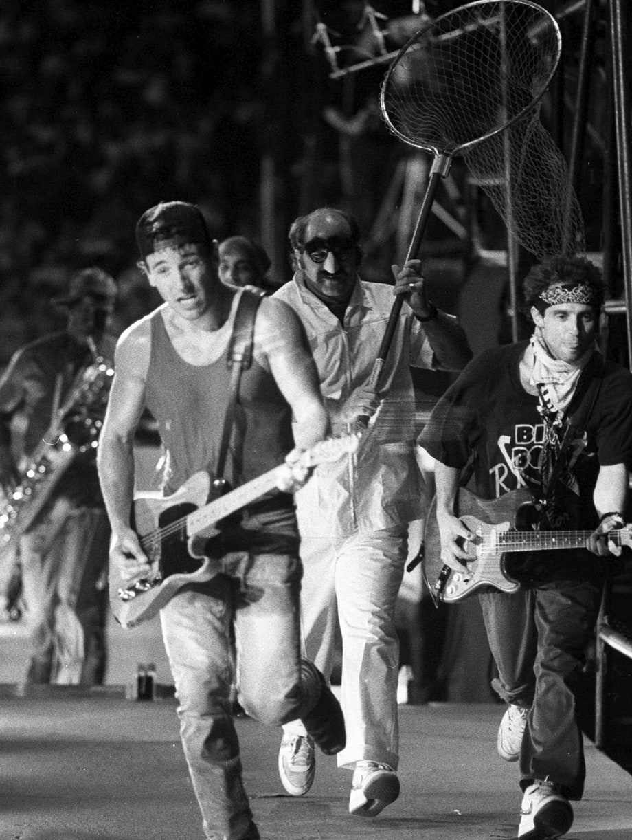 August 30, 1985: Giants Stadium, East Rutherford, NJ