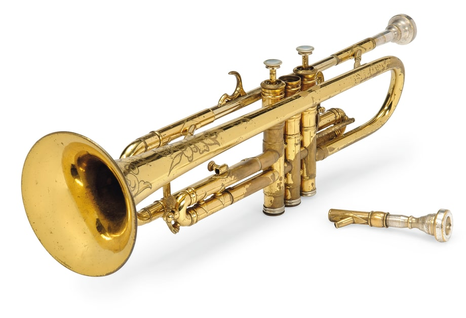 louis armstrong 39 s trumpet highlights from christie 39 s 39 pop culture 39 auction rolling stone. Black Bedroom Furniture Sets. Home Design Ideas