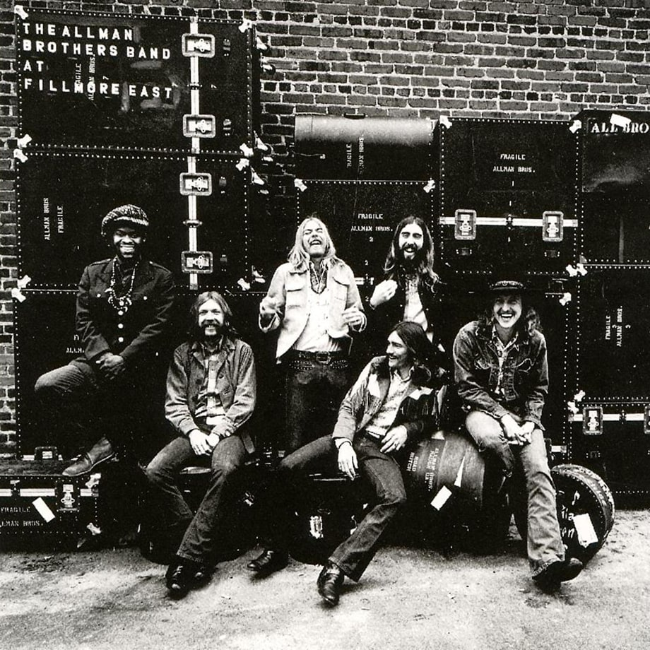 8. The Allman Brothers Band - 'At Fillmore East'