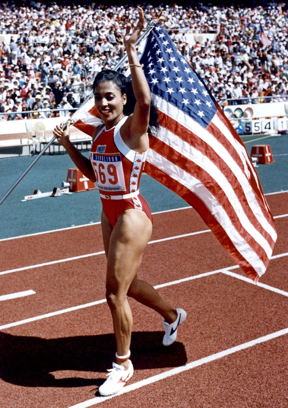 florence griffith joyner an american success story Success chloe kim was joined florence griffith joyner women's history month sonia sotomayor women's history month email this story send email to this.