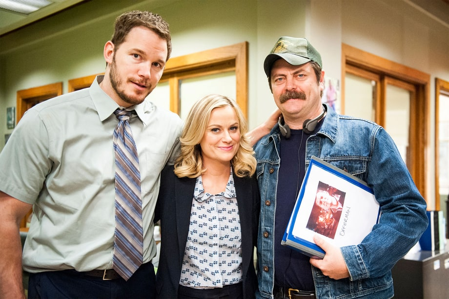 Pratt, Poehler and Offerman