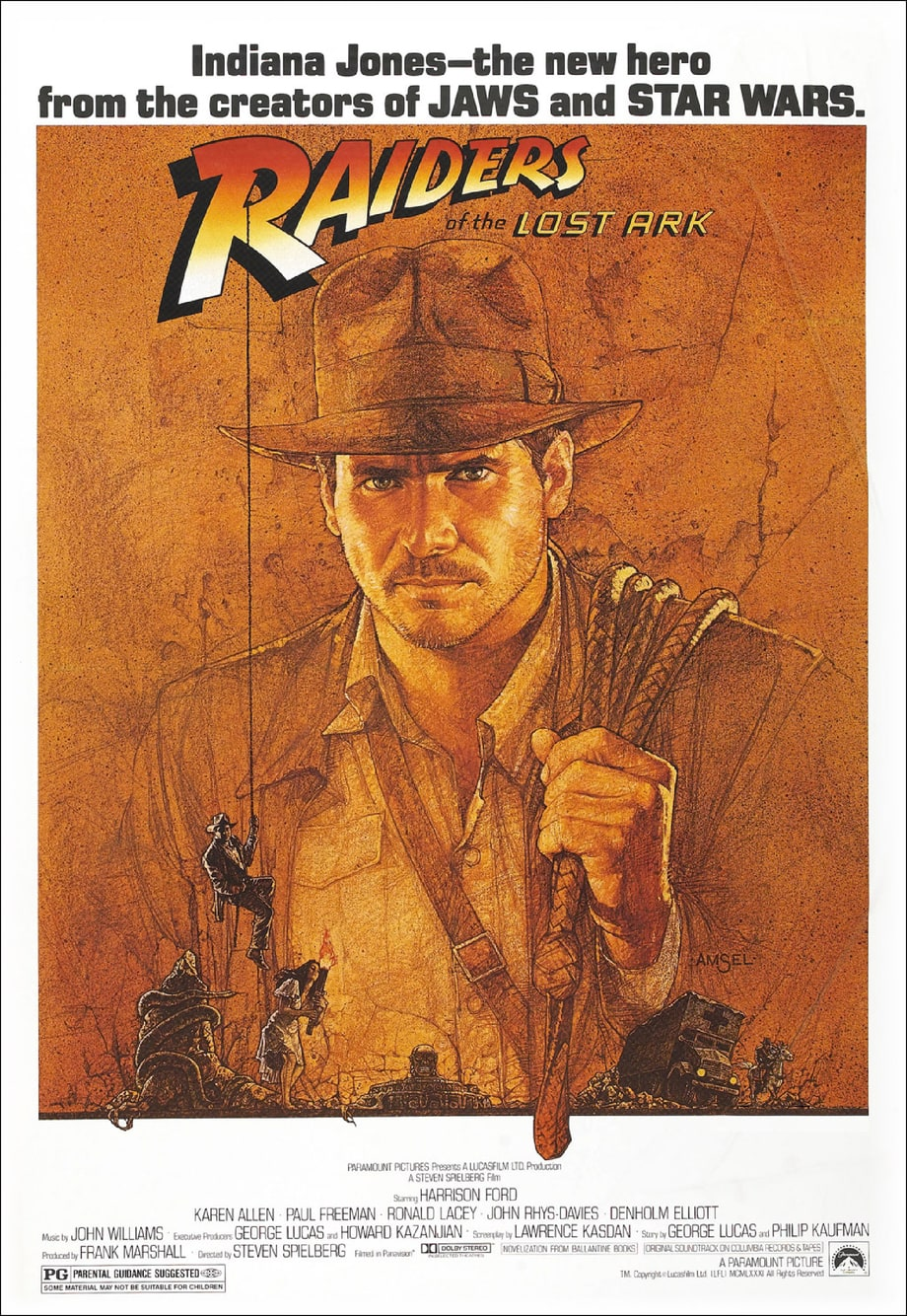 6. 'Raiders of the Lost Ark'