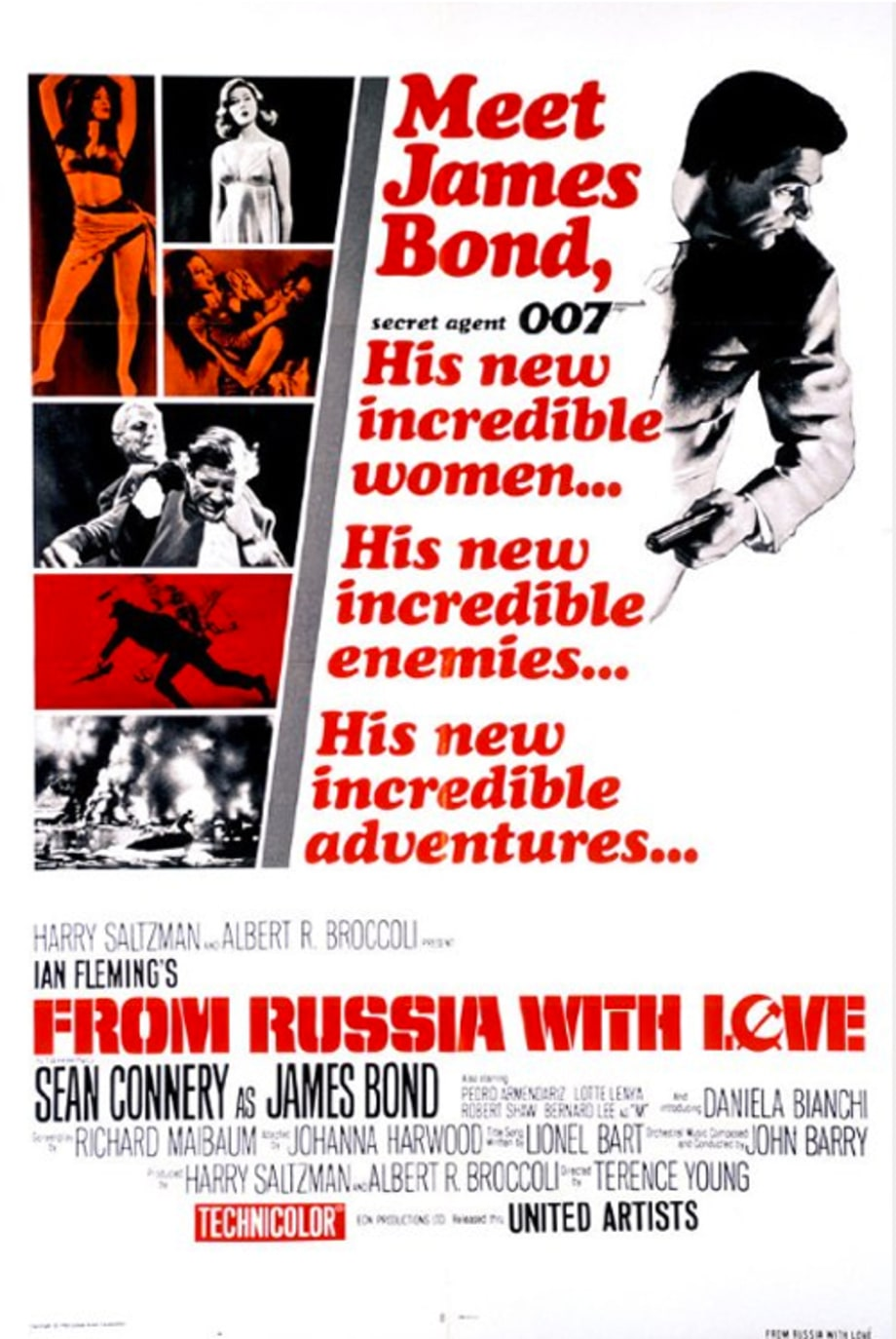 24. 'From Russia With Love'
