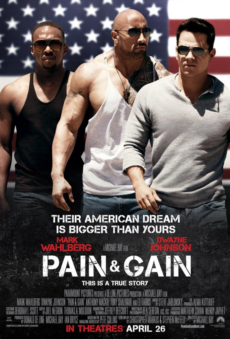20. 'Pain and Gain'