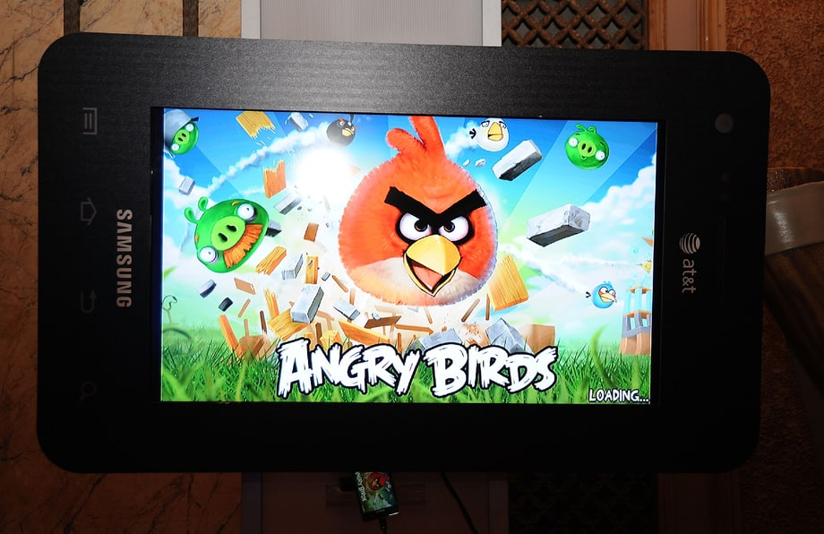 4. Angry Birds