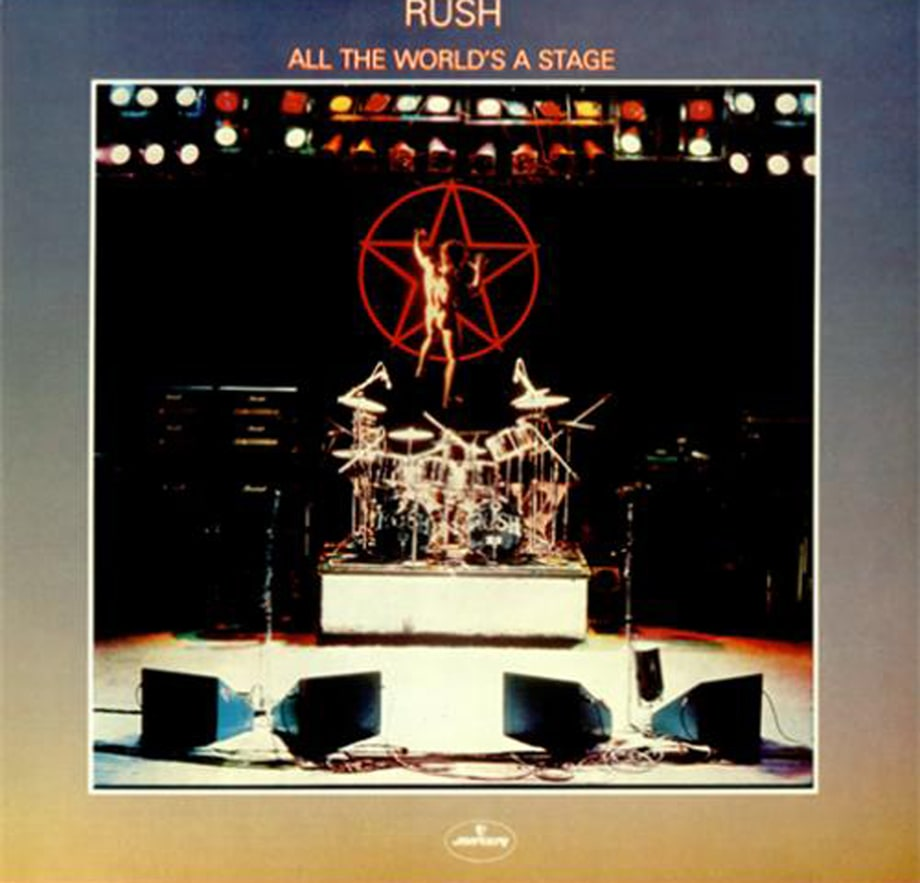 4. Rush - 'All the World's a Stage'