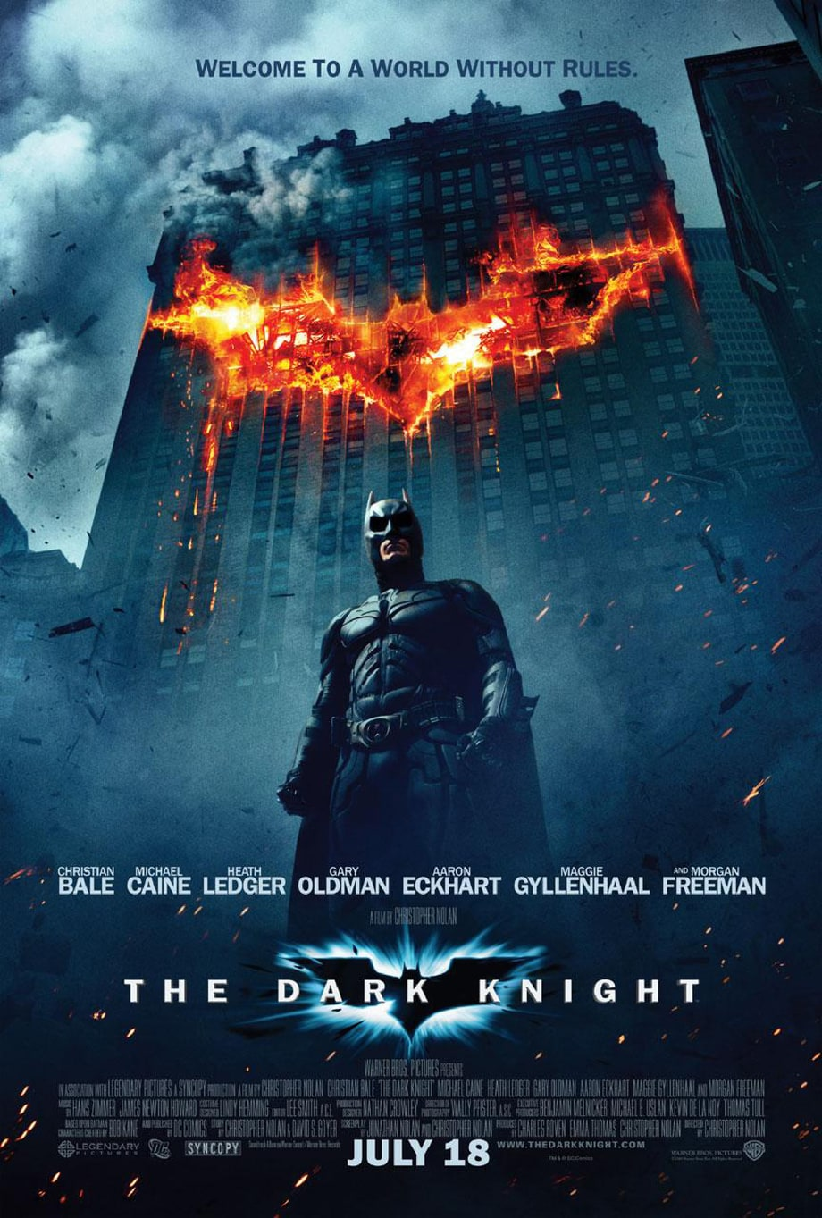 1. 'The Dark Knight'
