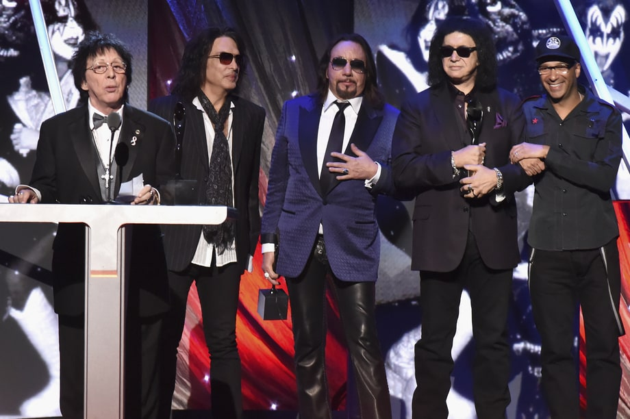 Best Anti-Drama: Kiss' Founding Four Members Reunite Onstage