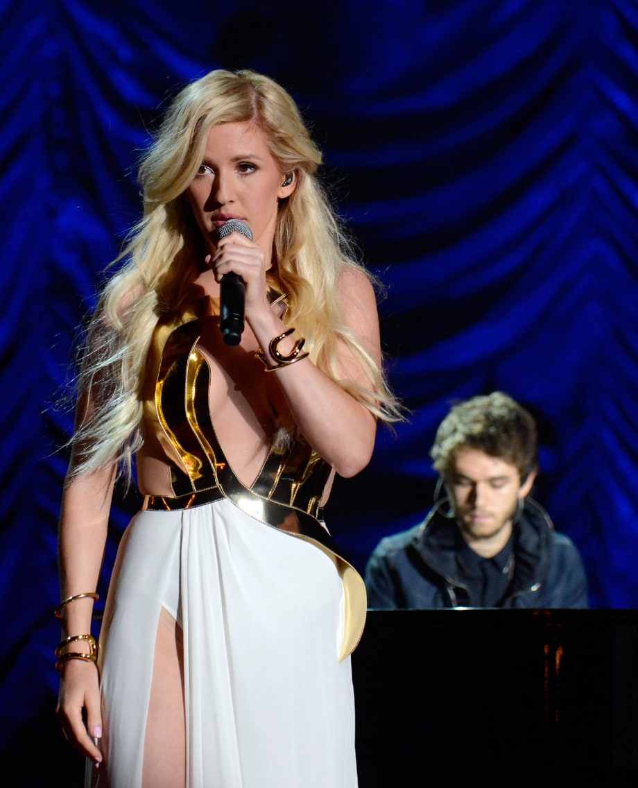 WORST: Ellie Goulding and Zedd Performing 'Beating Heart'