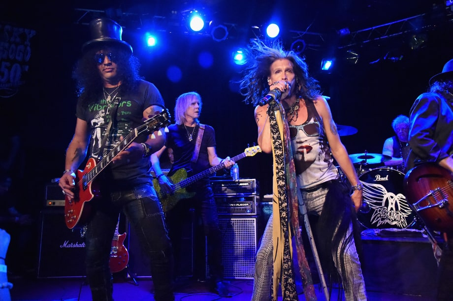 Aerosmith and Slash