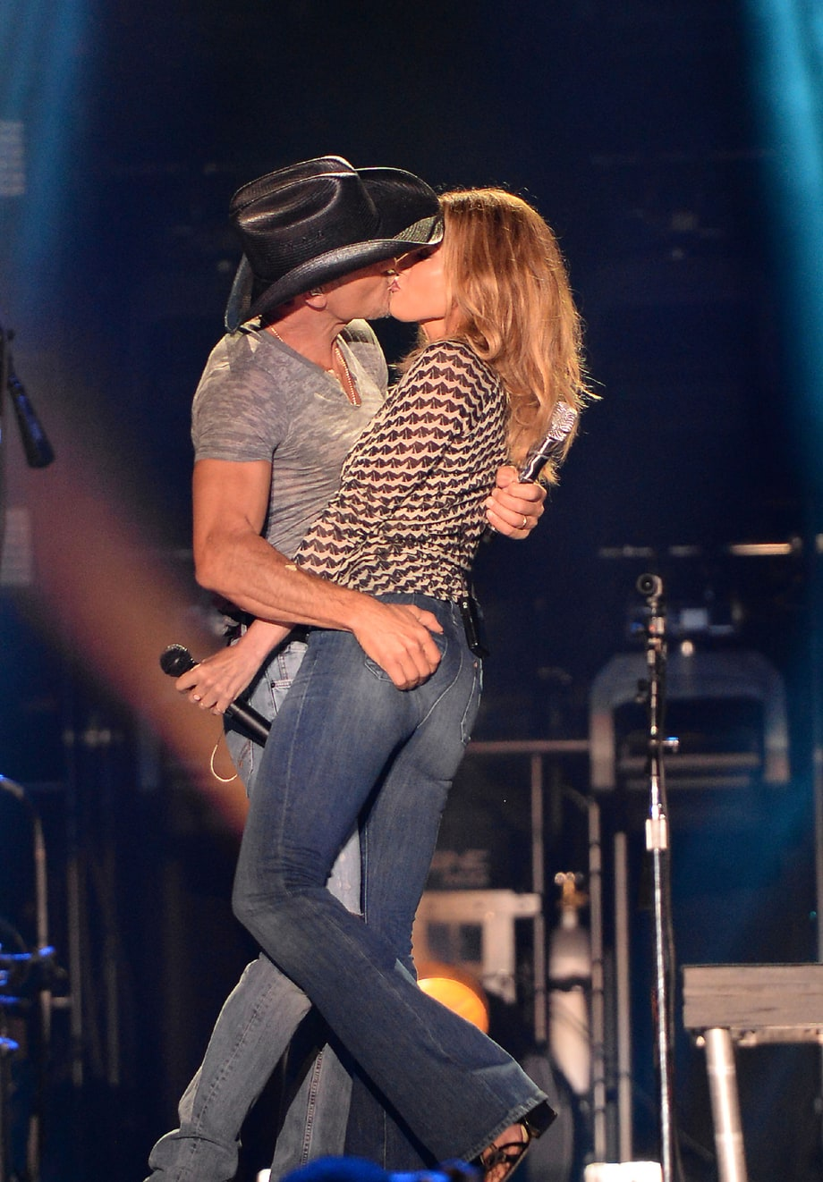 Best PDA: Faith Hill and Tim McGraw