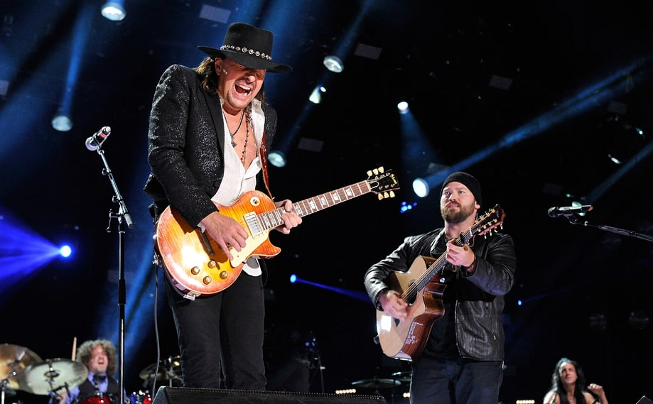 Best Unexpected Moment: Richie Sambora With Zac Brown Band