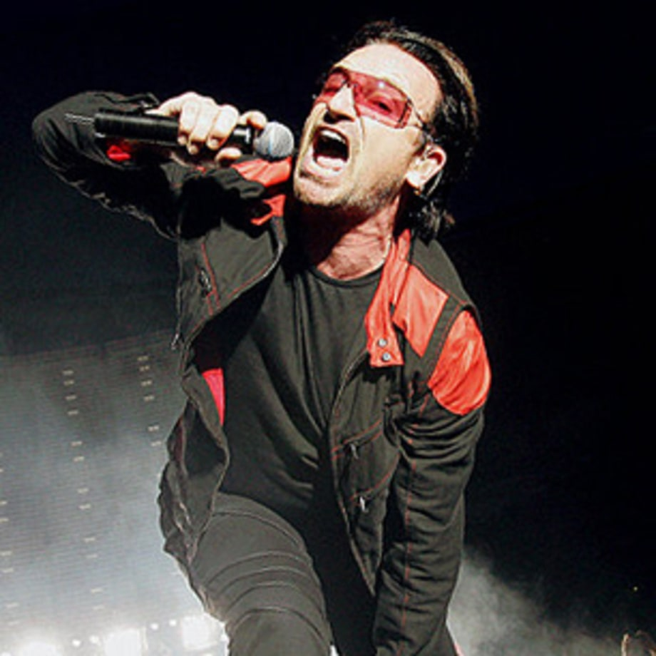 Bono 100 greatest singers of all time rolling stone for Top 50 house songs of all time