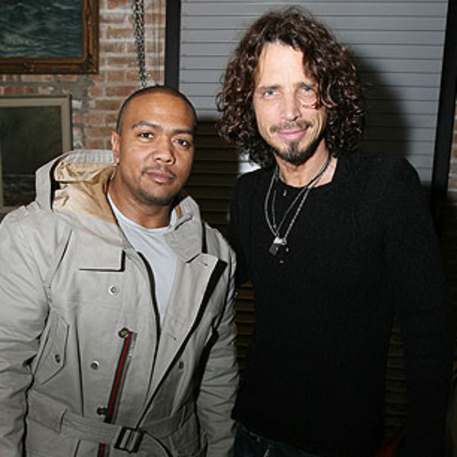 Chris Cornell Works With Timbaland