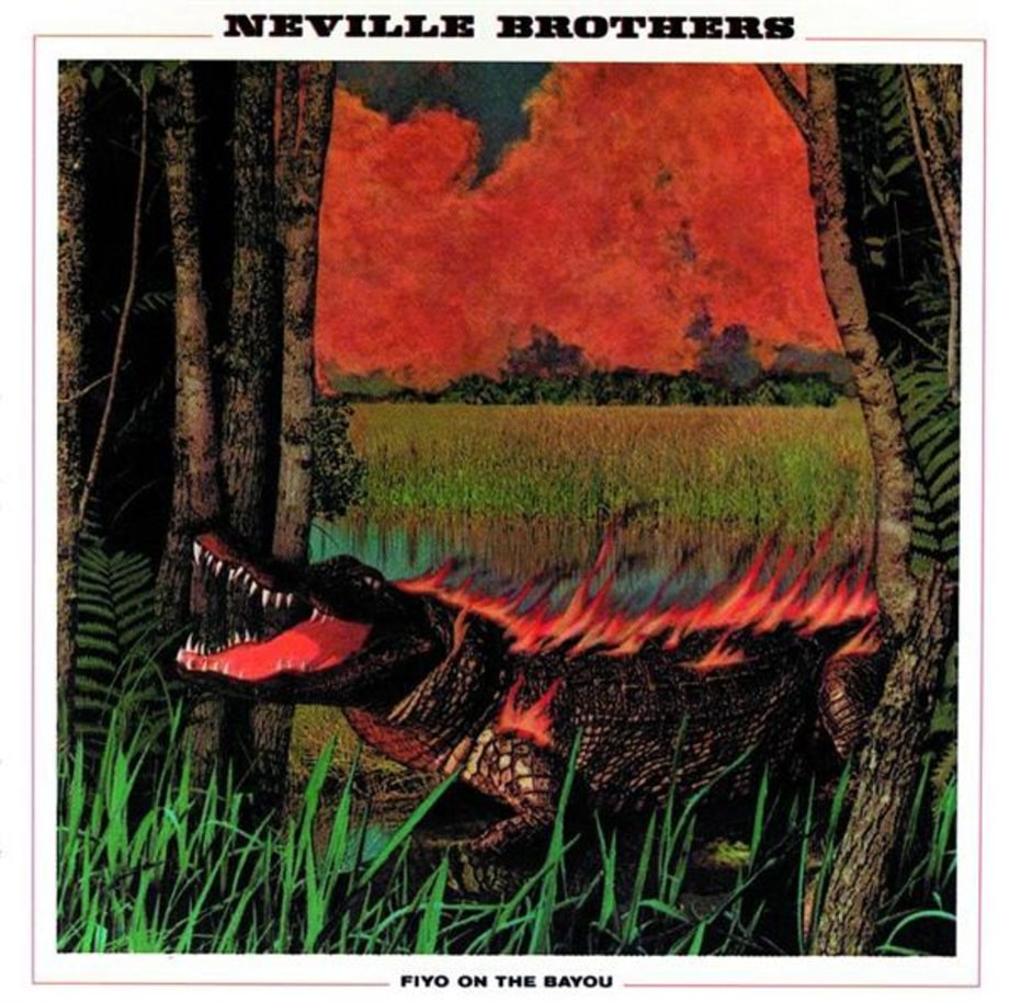 the neville brothers fiyo on the bayou 100 best