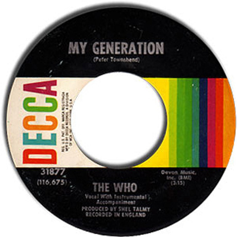 The Who, 'My Generation'