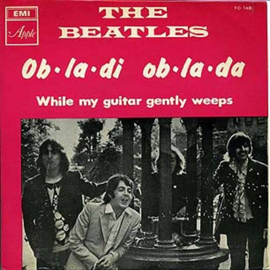 The Beatles, 'While My Guitar Gently Weeps'