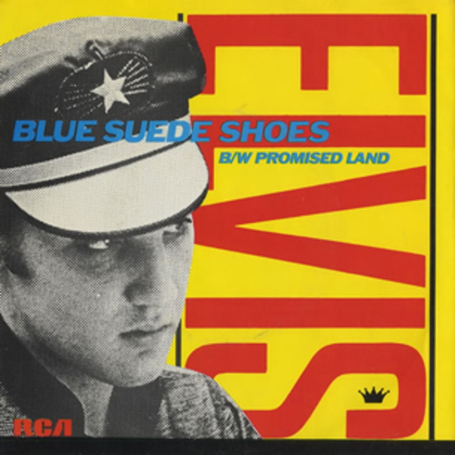Elvis Presley, 'Blue Suede Shoes'