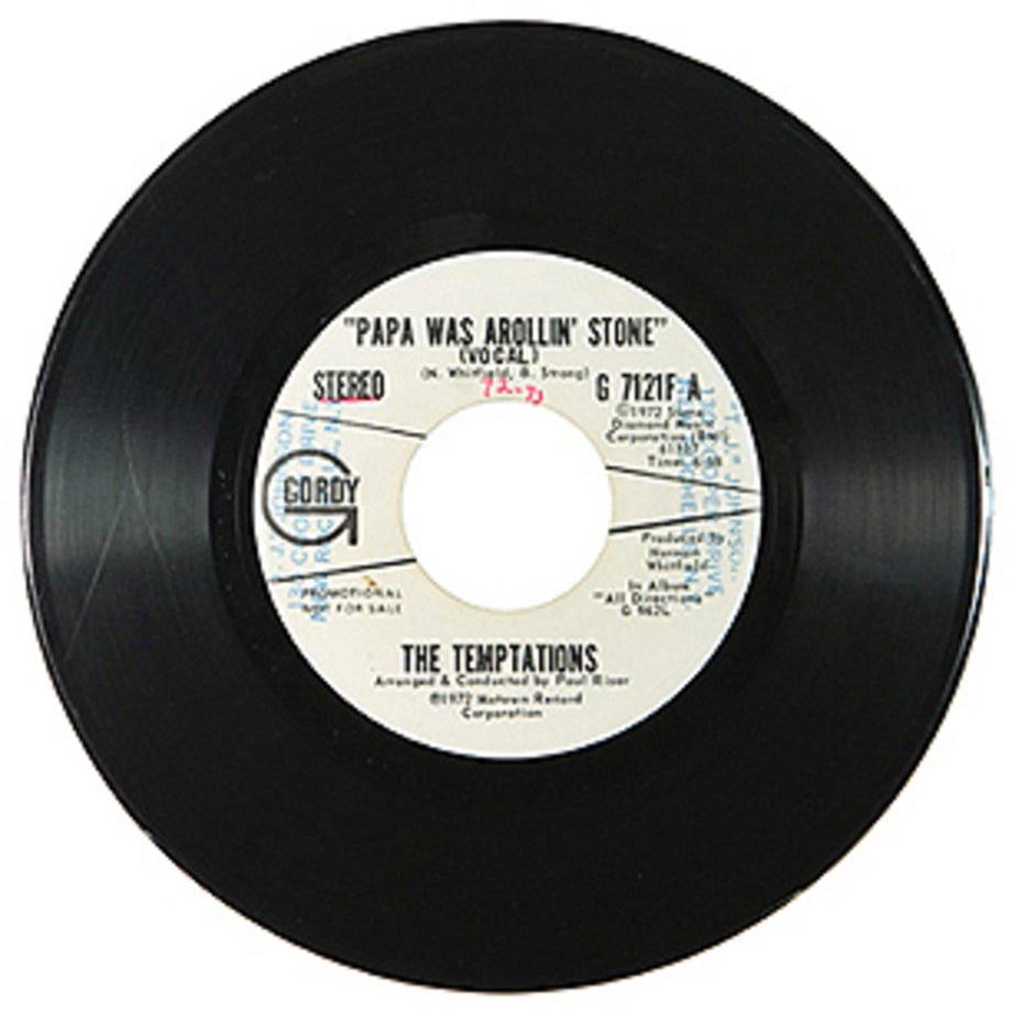 The Temptations, 'Papa Was a Rollin' Stone'