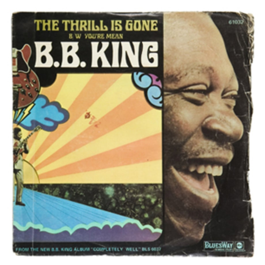 B.B. King, 'The Thrill is Gone'