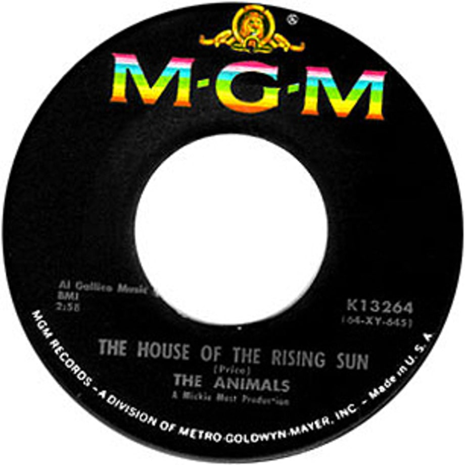 The Animals, 'The House of the Rising Sun'