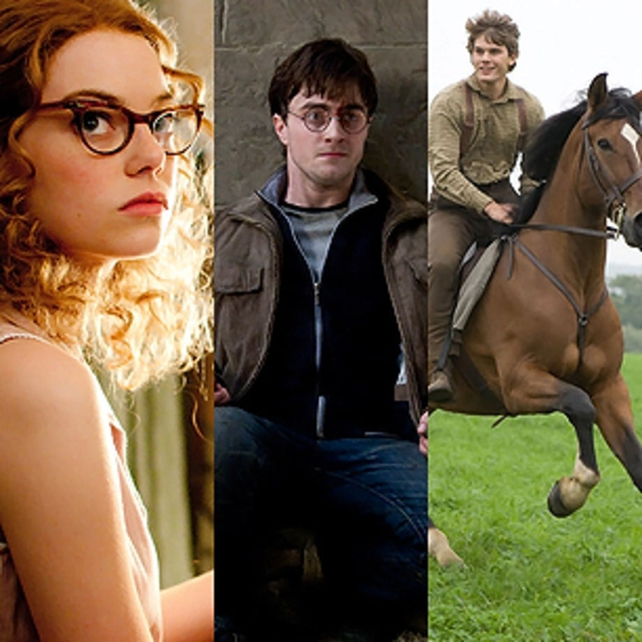 War Horse, The Help, Harry Potter and the Deathly Hallows: Part 2