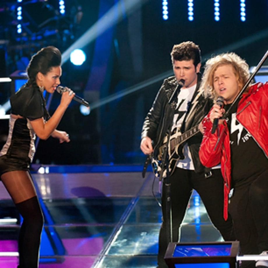Worst Performance: Erin Martin and The Shields Brothers - 'What's Love Got to Do With It'