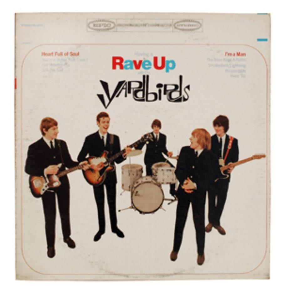 The Yardbirds, 'Having a Rave Up With the Yardbirds'