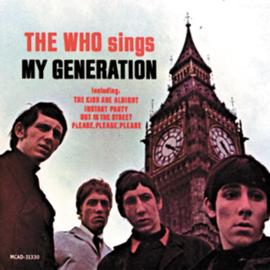 The Who, 'The Who Sings My Generation'