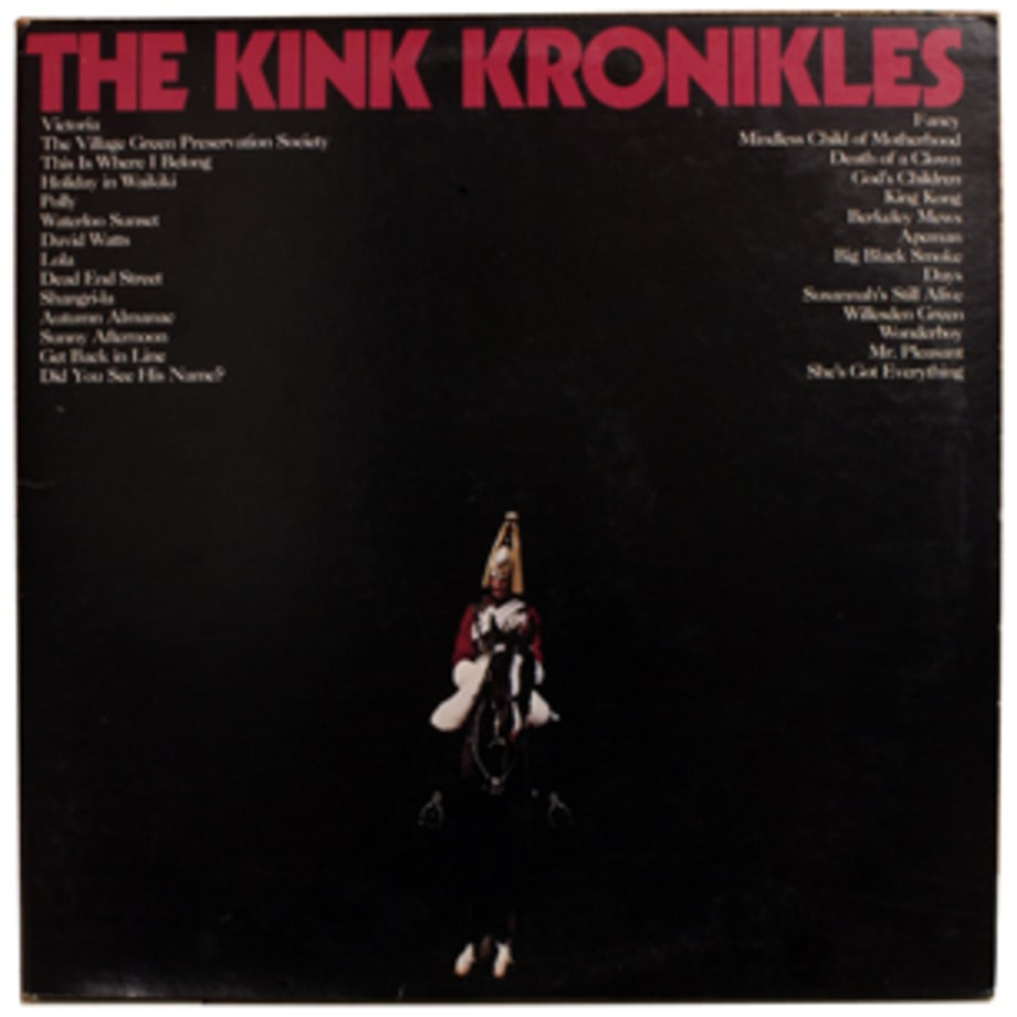 The Kinks, 'The Kink Kronikles'